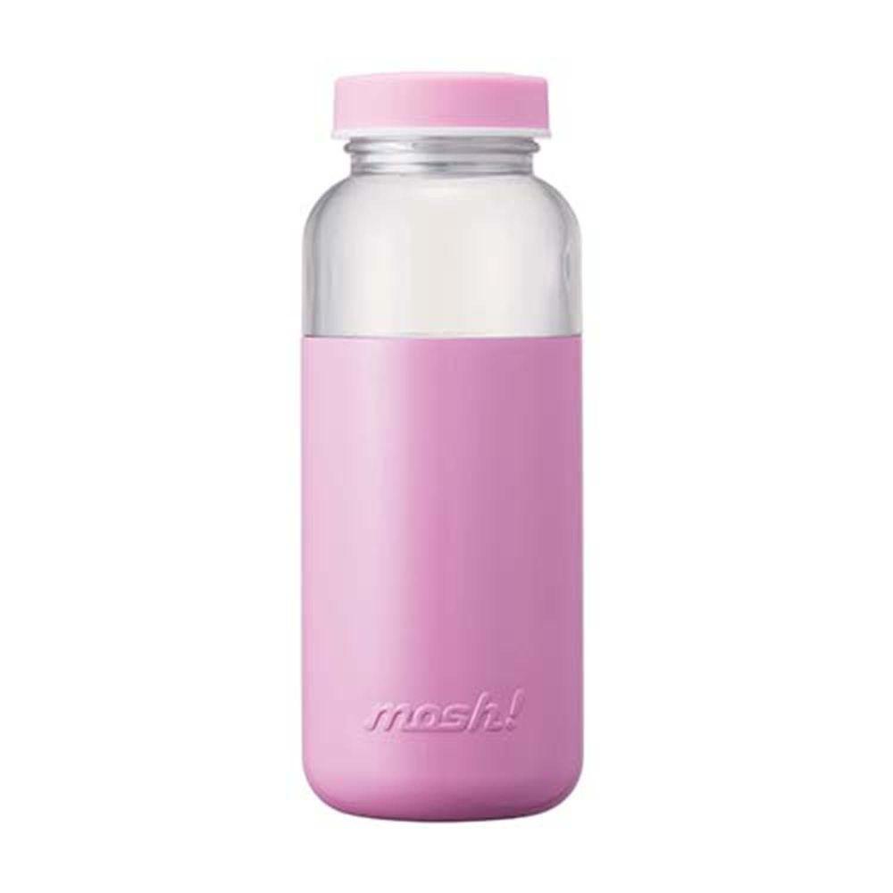 日本mosh! - 膠囊保冷瓶-買大送小(請在訂單備註小款顏色)-紫 (500ml)