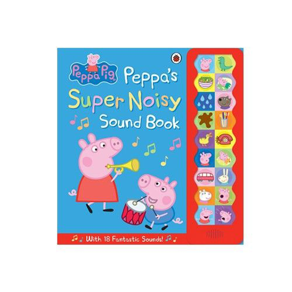 PEPPA'S SUPER NOISY SOUND BK/聲音書-聲音書