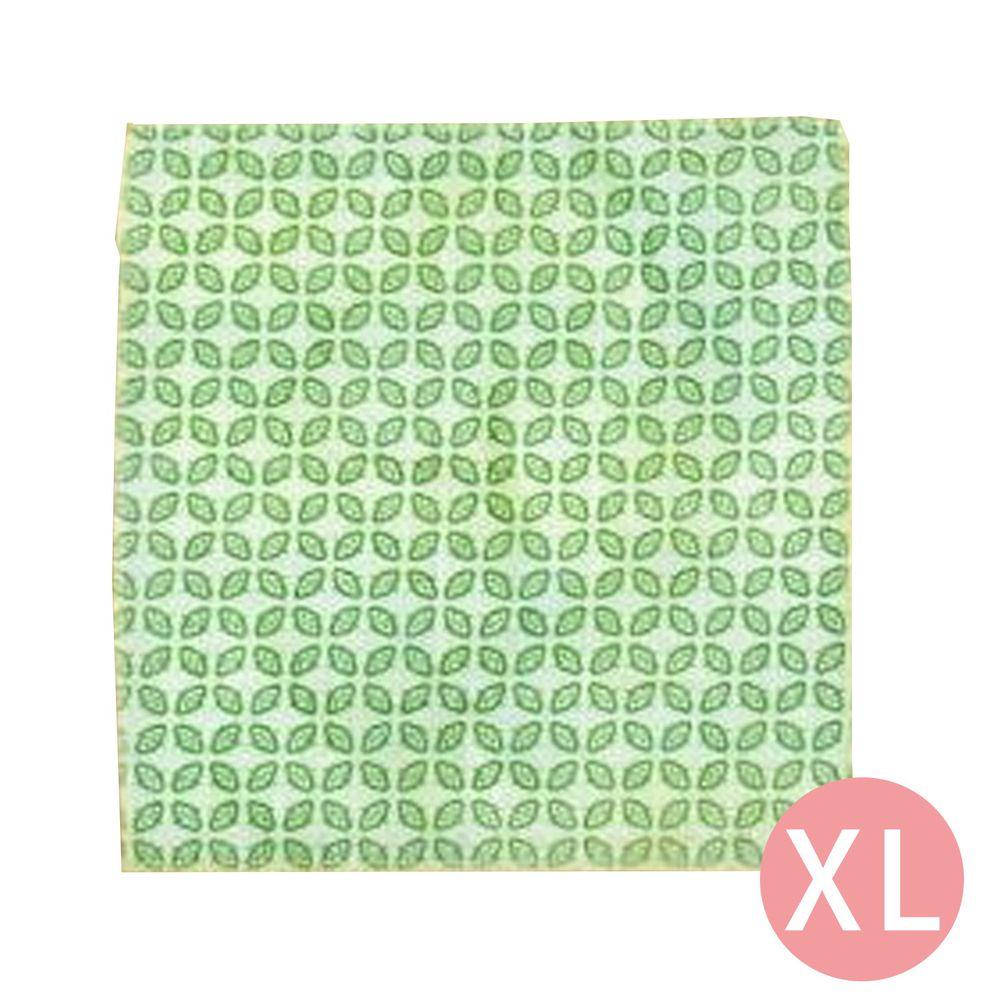 仁舟淨塑 - 蜂蠟保鮮布-基本款-青草綠 (XL)
