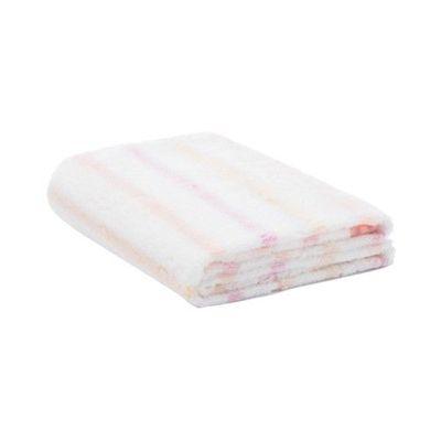 今治小花浴巾-波斯橘 (60x120cm)