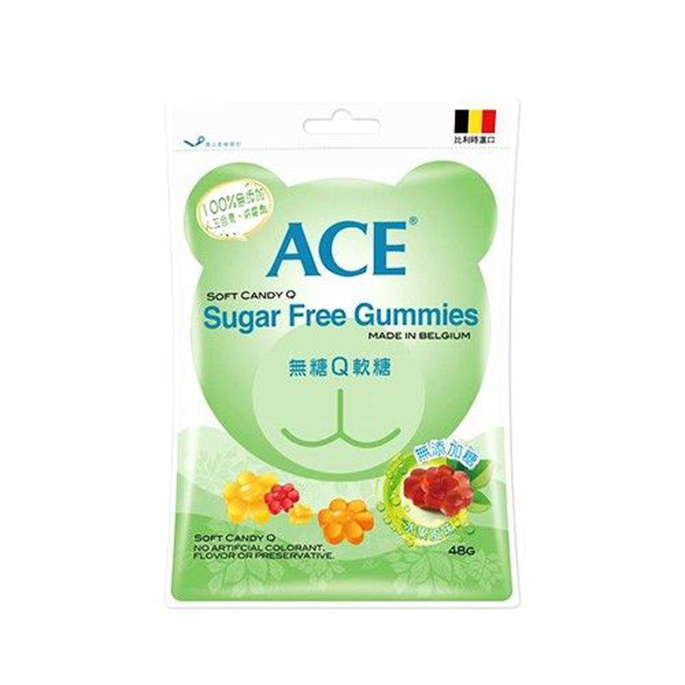 ACE - 無糖Q軟糖-48g/袋