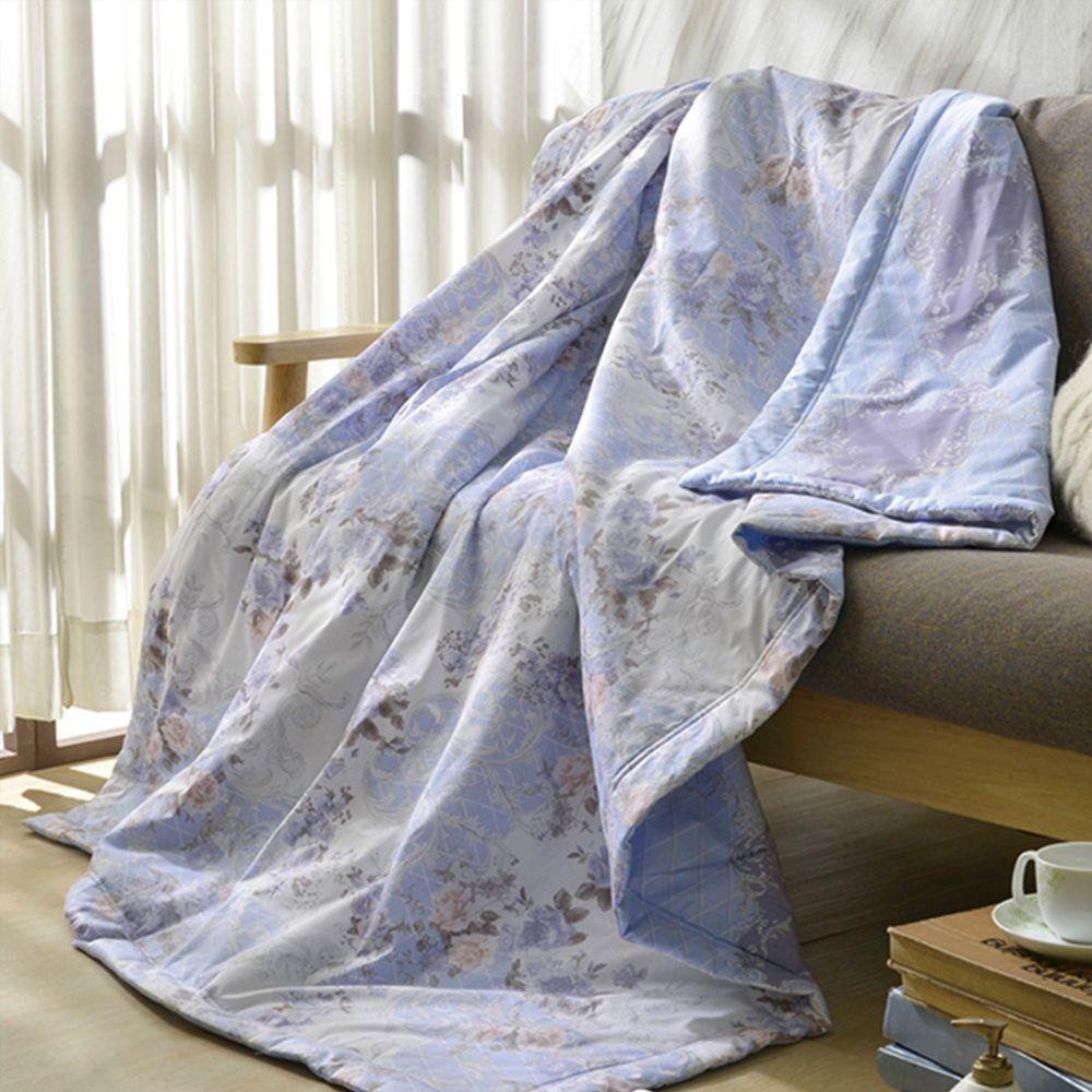 格蕾寢飾 Great Living - 義大利La Belle純棉涼被-漫步花海 ((5x6.5尺))