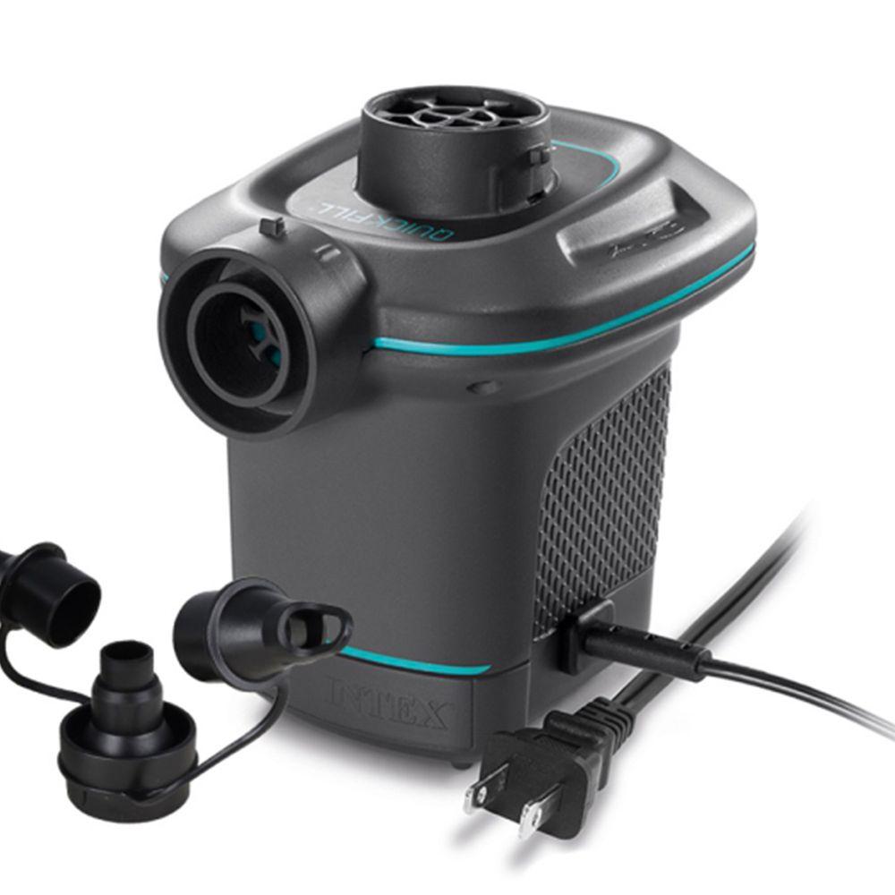 INTEX - 110V家用電動充氣幫浦(充洩二用)-黑色