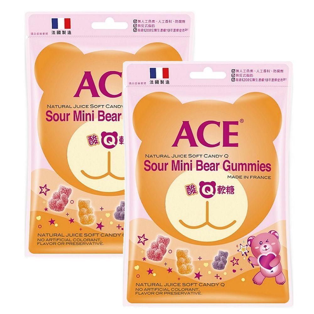 ACE - ACE 酸Q熊軟糖*2-44g/袋