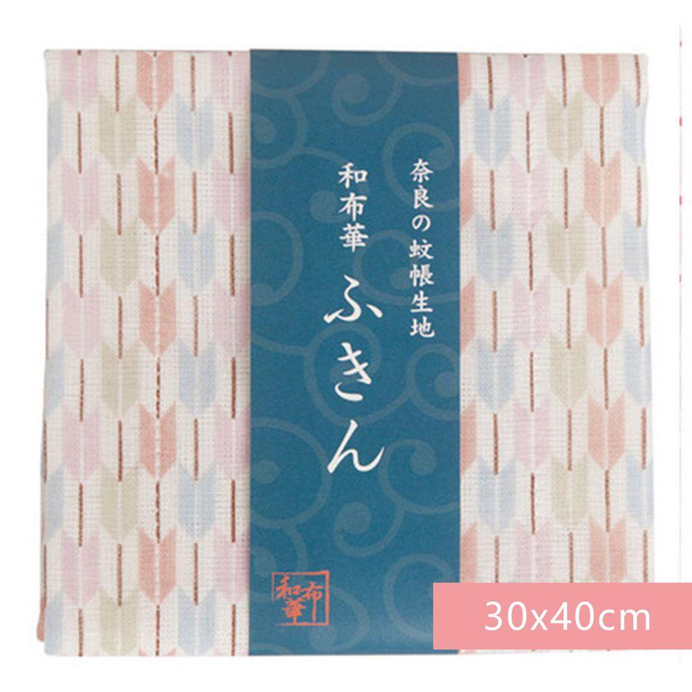 日本代購 - 【和布華】日本製奈良五重紗 方巾-箭羽 (30x40cm)