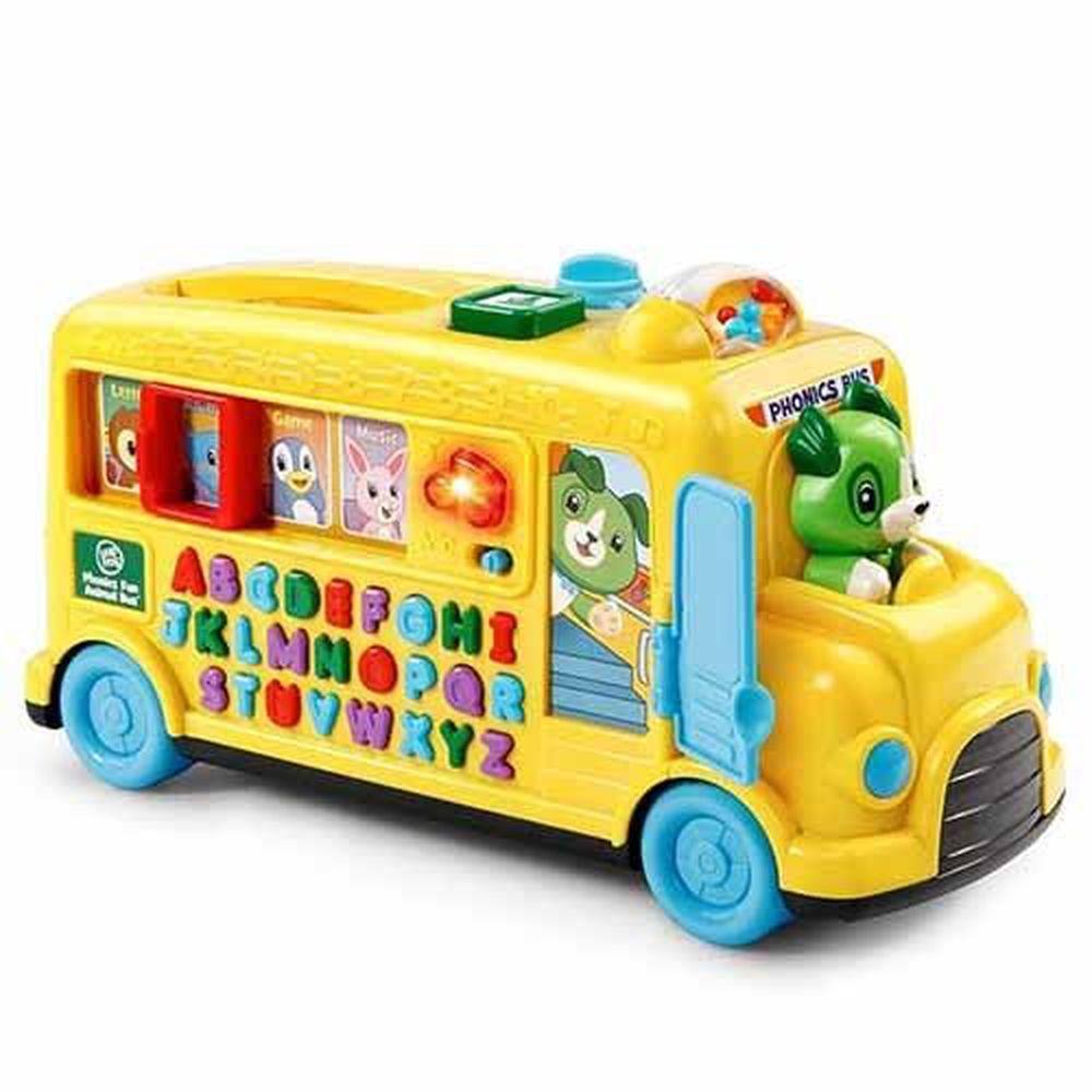 LeapFrog美國跳跳蛙 - 動物字母發音小巴士