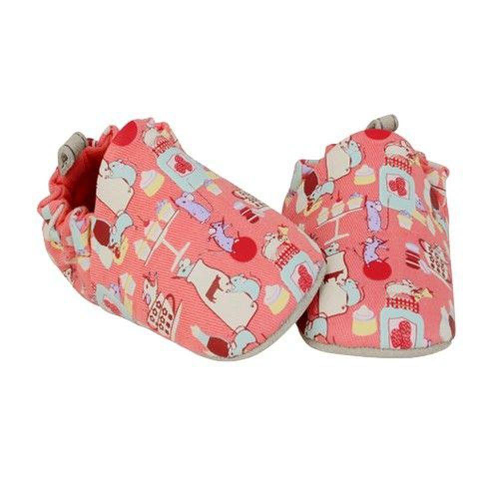 英國 POCO NIDO - 寶寶手工鞋/學步鞋-料理鼠王