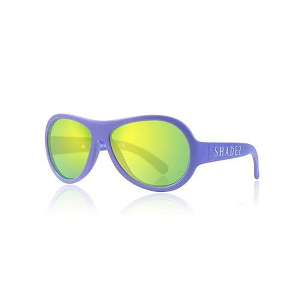 SHADEZ - 可彎折嬰幼兒時尚太陽眼鏡-帥氣藍紫