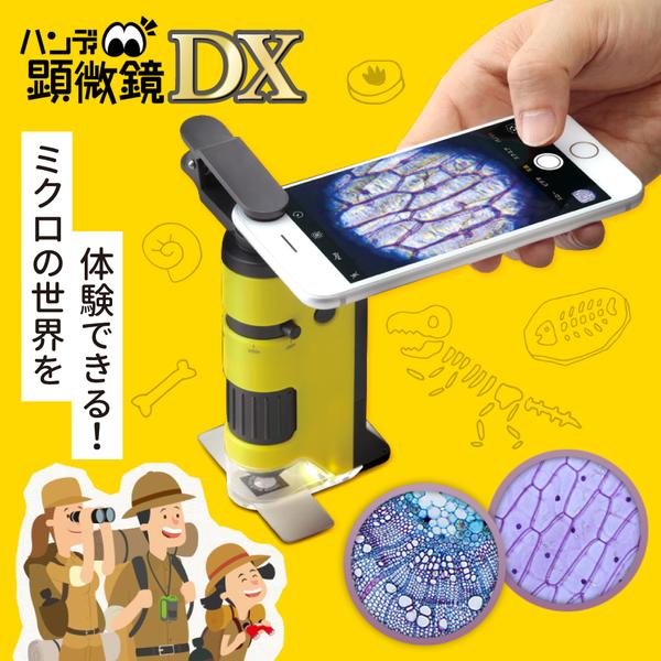 【日本Raymay】隨身攜帶輕量顯微鏡|讓孩子恣意探索世界!