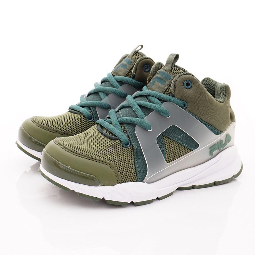 FILA - FILA童鞋-韓系復古鞋款(中大童段)-綠