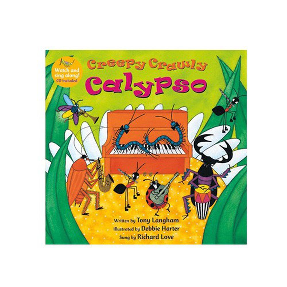 有聲書-CREEPY CRAWLY CALYPSO/BK+VCD