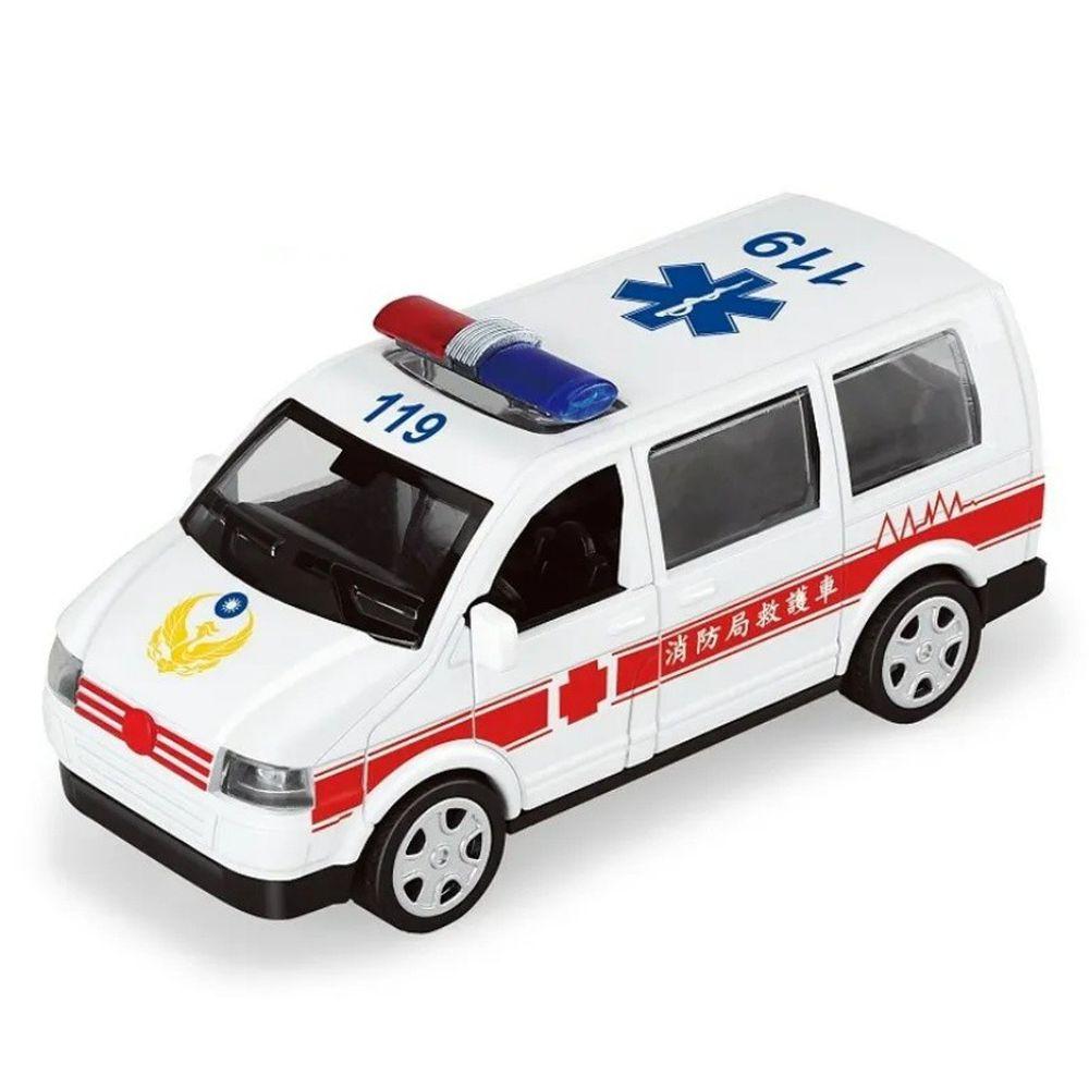 樂彩森林 - 聲光迴力城市守衛隊-救護車