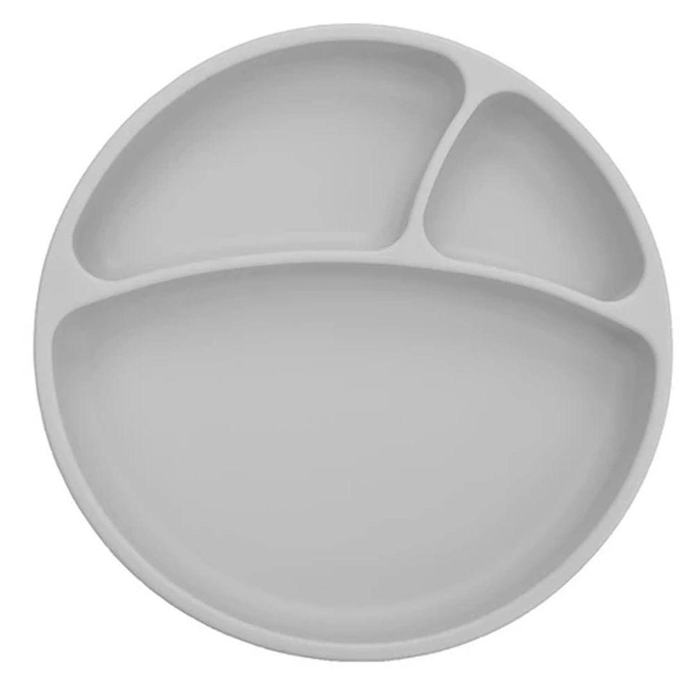 土耳其 minikoioi - 防滑矽膠餐盤-銀河灰