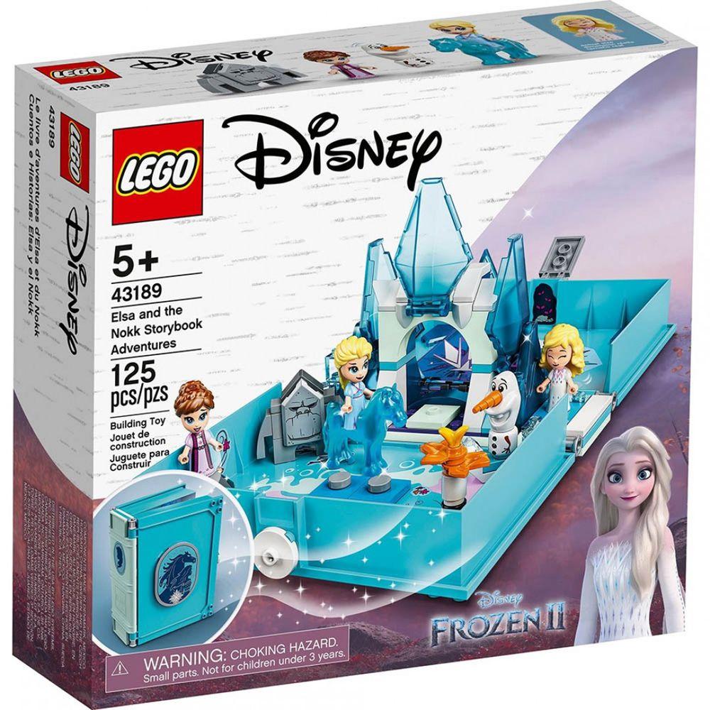 樂高 LEGO - 樂高積木 LEGO《 LT 43189 》迪士尼公主系列 - 艾莎與水靈諾克的口袋故事書-125pcs