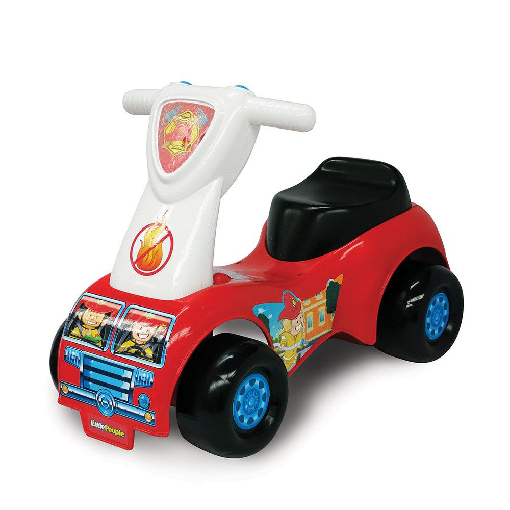 美國Fisher-Price 費雪 - 費雪牌little people 救援騎乘玩具