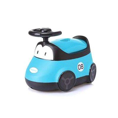 小汽車座便器-藍色