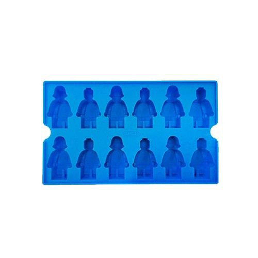 韓國 OXFORD - 樂高造型DIY模具-12小格-藍色