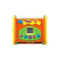 (滿額贈品)【媽咪愛獨家滿額贈 】新聲光四面遊戲機(無外盒) X 1