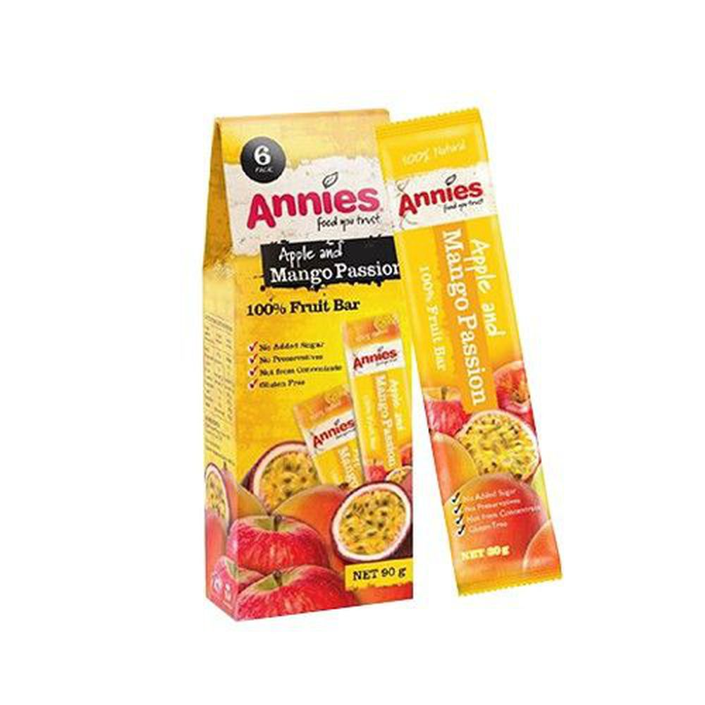 壽滿趣 - 紐西蘭Annies 全天然水果條-百香芒果 (15gm,6片裝)