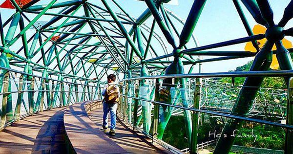 【台中親子旅遊】媲美日本特色公園!快到鰲峰山運動公園插旗!