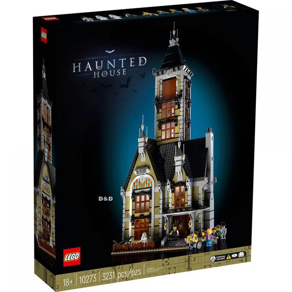 樂高 LEGO - 樂高積木 LEGO《 LT10273 》創意大師 Creator 系列 - 遊樂場鬼屋-3231pcs