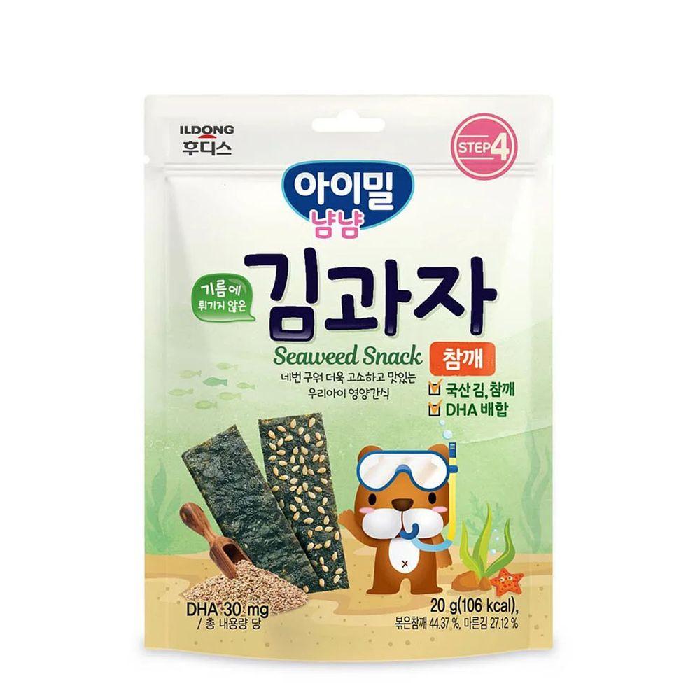 韓國Ildong Foodis日東 - 海苔夾心脆片-芝麻