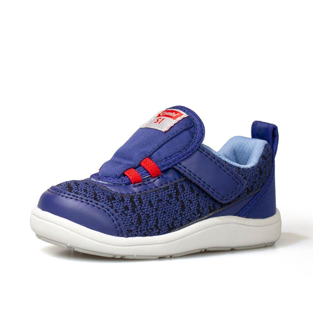 日本 Combi - 機能童鞋/學步鞋-NICEWALK 醫學級成長機能鞋-藍-A02