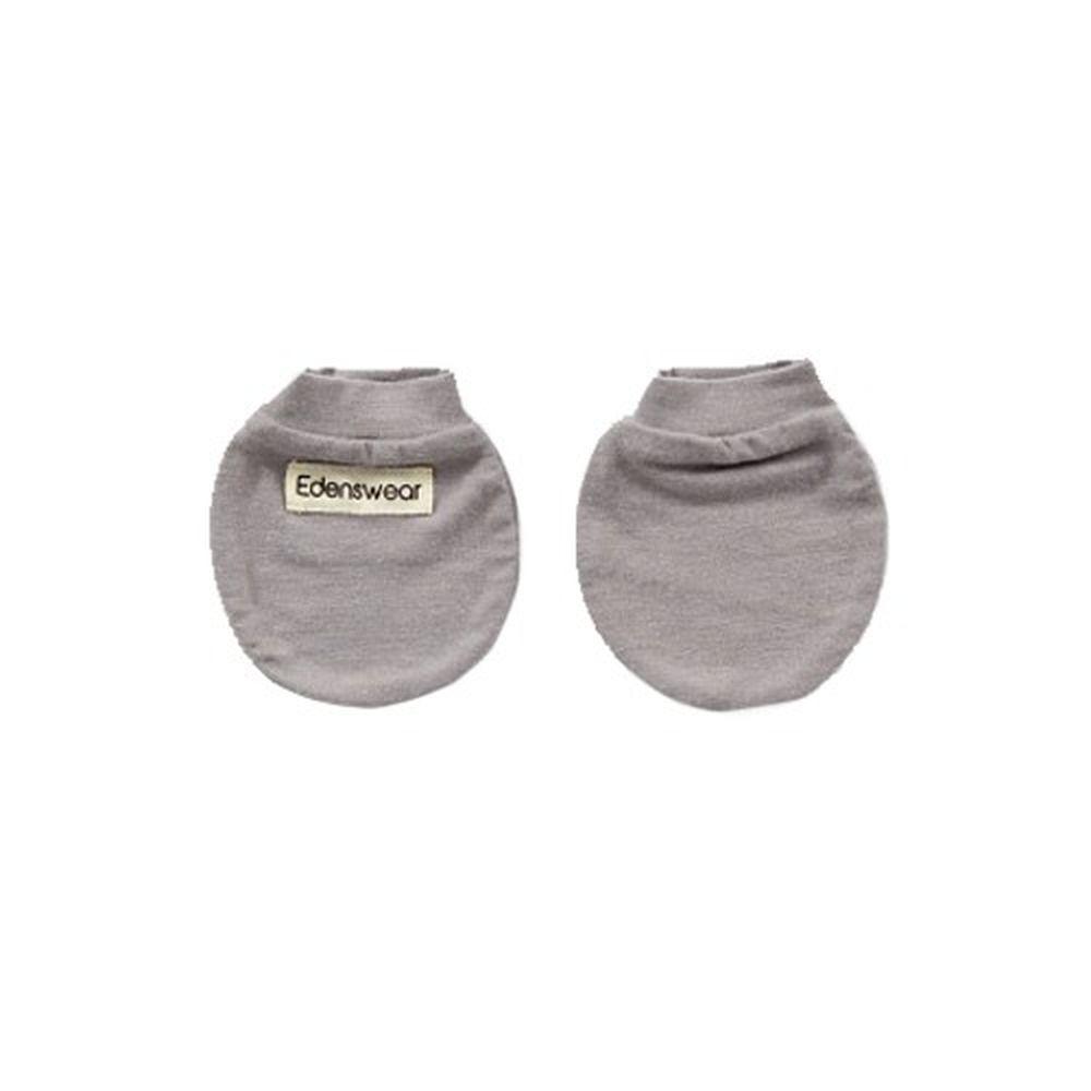 Edenswear 伊登詩 - 鋅纖維抗敏衣系列-嬰兒防抓手套-灰 (FREE)