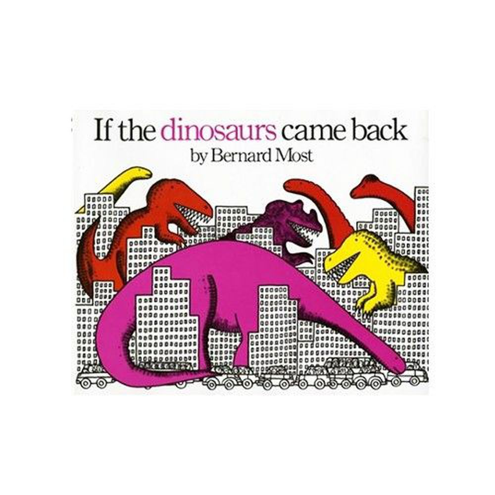 麥克兒童外文書店 - 有聲書-IF DINOSAURS CAME BACK/書+CD