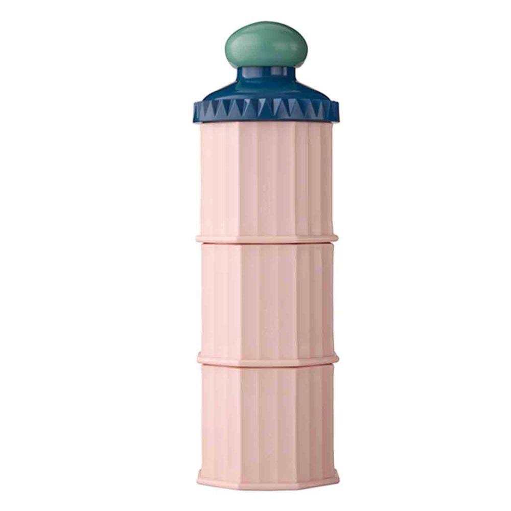 日本 Bétta - 城堡三層奶粉收納罐/分裝罐/零食盒-寶貝粉