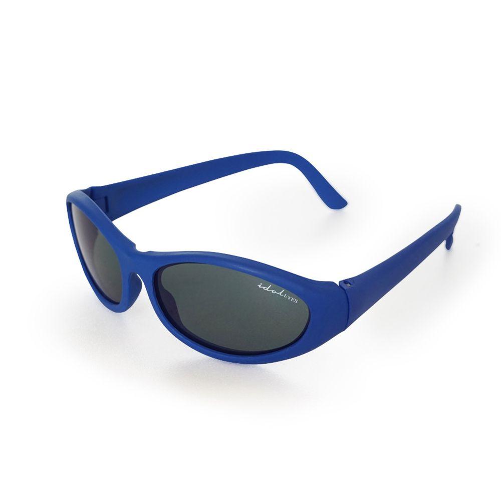 Idol EYES - 兒童太陽眼鏡-簡約運動系列Lite Sport-藍色 (2-5歲兒童款)