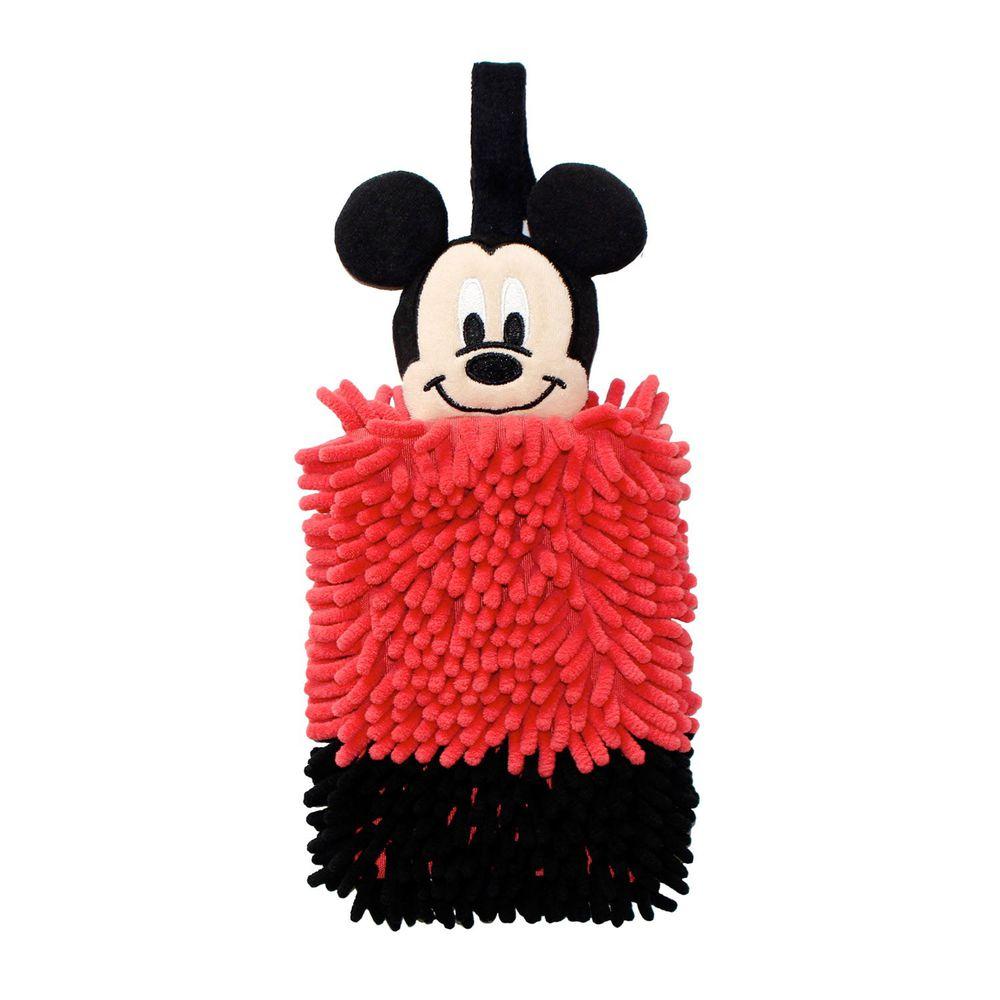 日本千趣會 - 迪士尼 擦手巾-米奇-紅黑 (16x38.5x4cm)