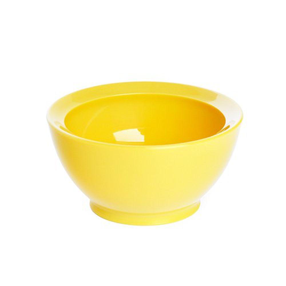 美國 Calibowl - 8oz防漏學習碗-黃色