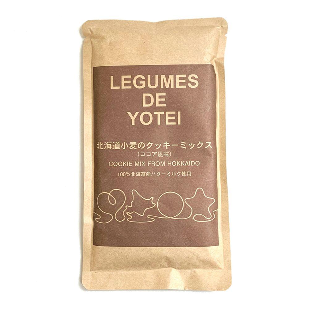日本LEGUMES DE YOTEI - 北海道餅乾預拌粉-可可-200g