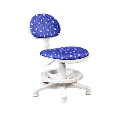 《知識家》兒童成長可調式電腦椅【水玉限定版】-藍色