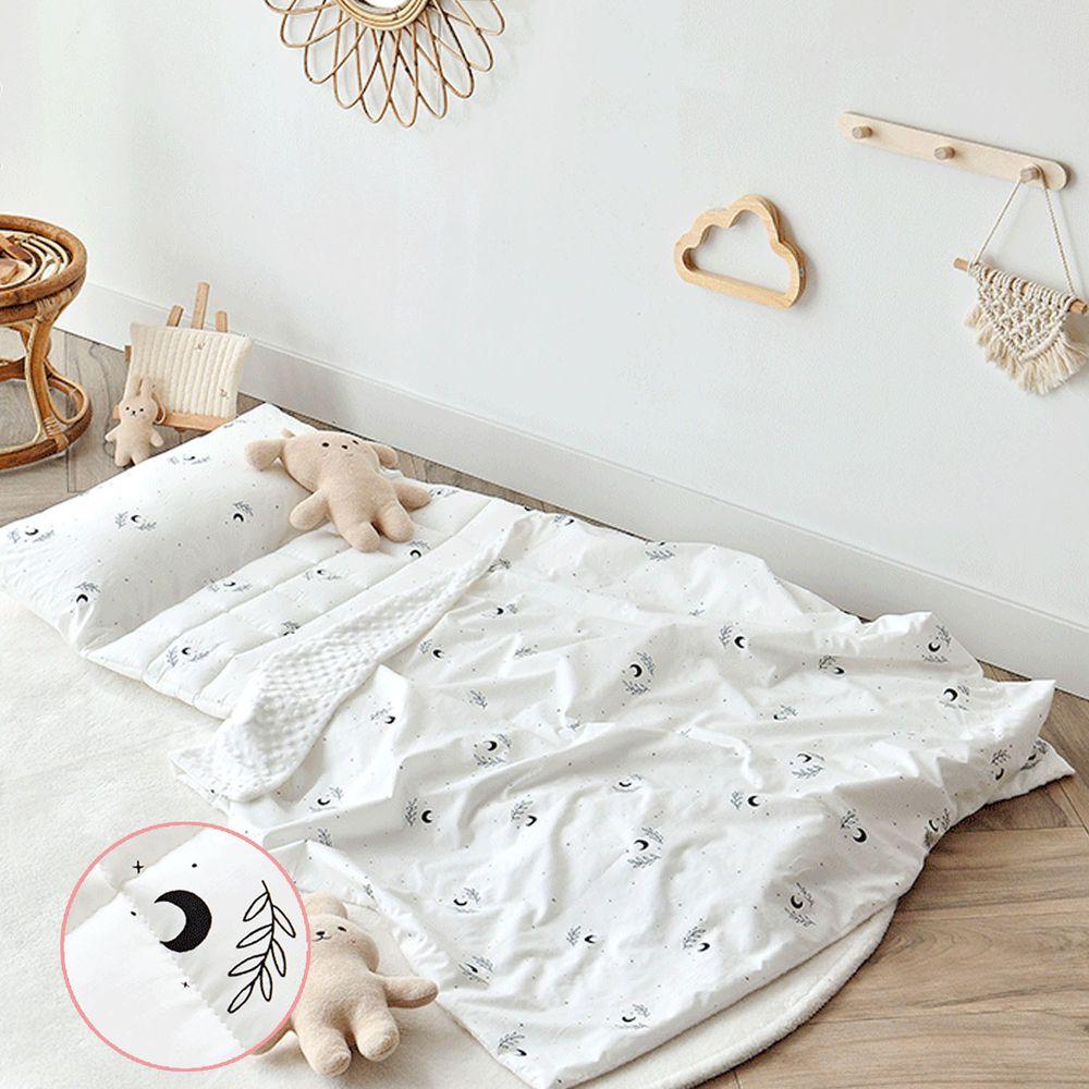 韓國 Formongde - (升級版)6cm厚雙面用睡袋/寢具(附收納袋)-寧靜月光