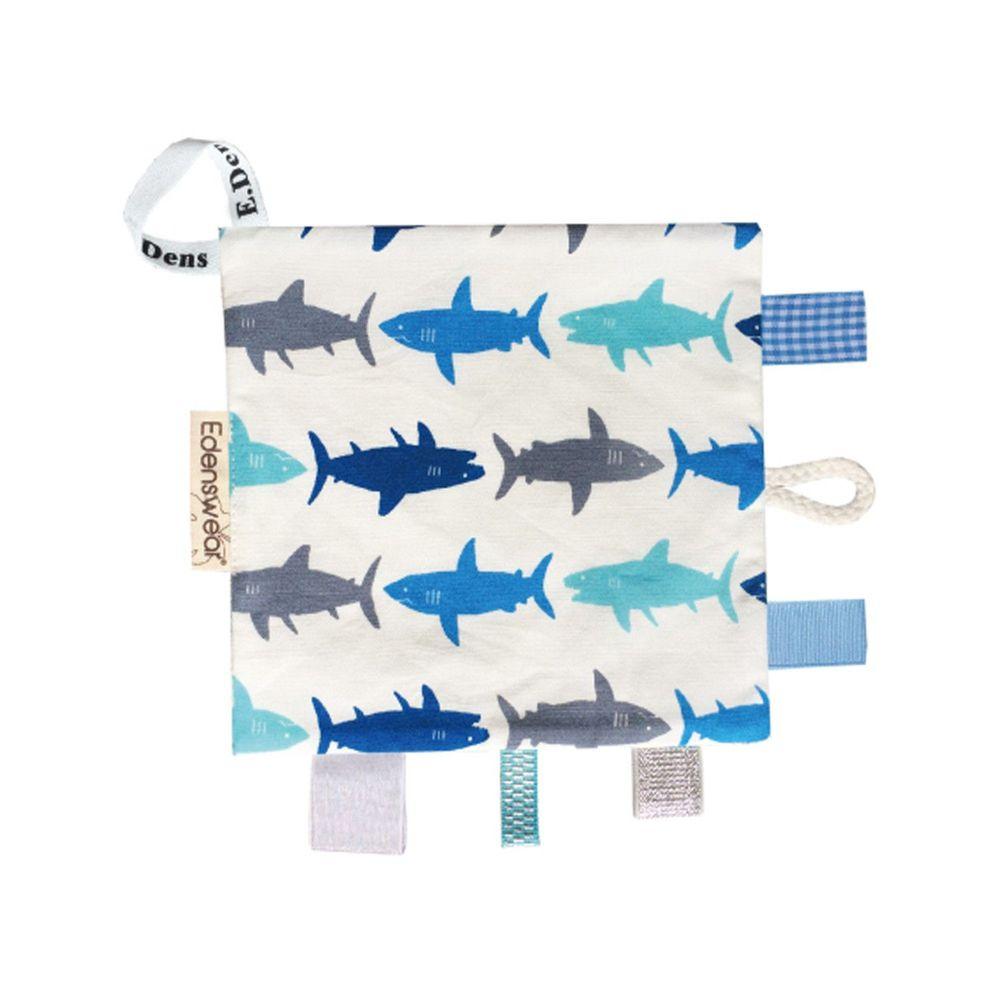 Edenswear 伊登詩 - 鋅健康嬰兒響紙口水巾安撫巾-鯊魚