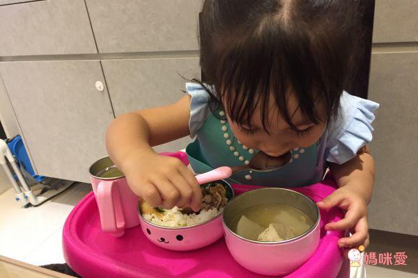 日本dacos寶貝大口吃不鏽鋼餐具組