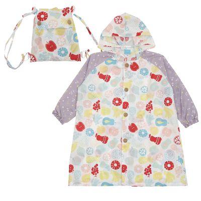 小童雨衣(附收納袋)-水果世界