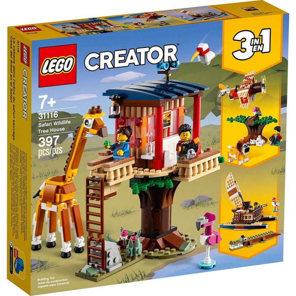 樂高 LEGO - 樂高積木 LEGO《 LT31116 》創意大師 Creator 系列 - 野生動物園樹屋-397pcs