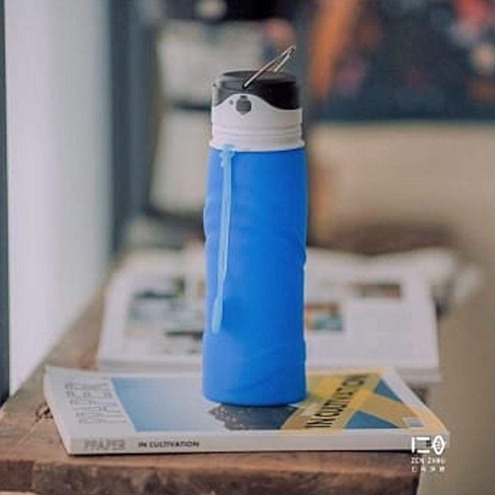 仁舟淨塑 - 捲捲矽光瓶-湛海藍