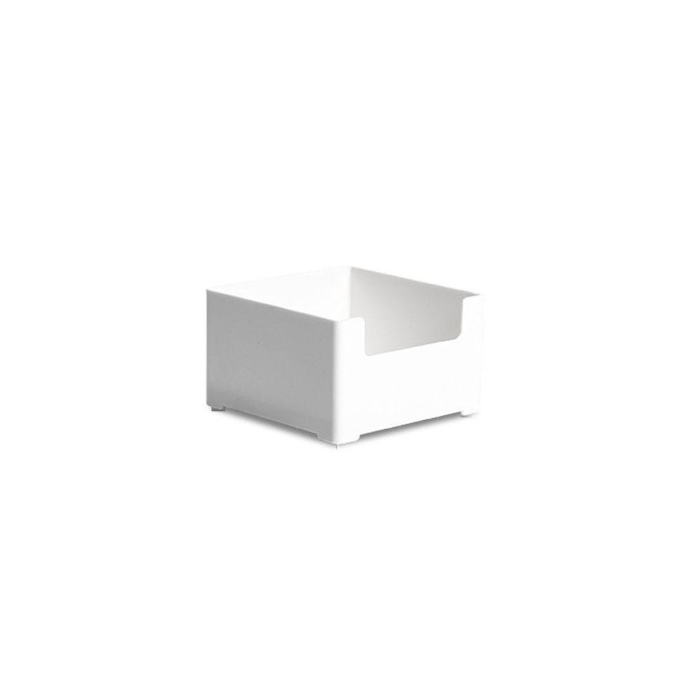 凹型可堆疊桌面抽屜整理收納盒-小號 (10x10x6cm)