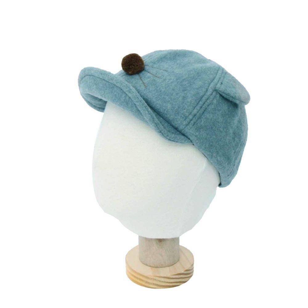 韓國 Babyblee - 小鼠鼻子棒球帽-天藍 (FREE)
