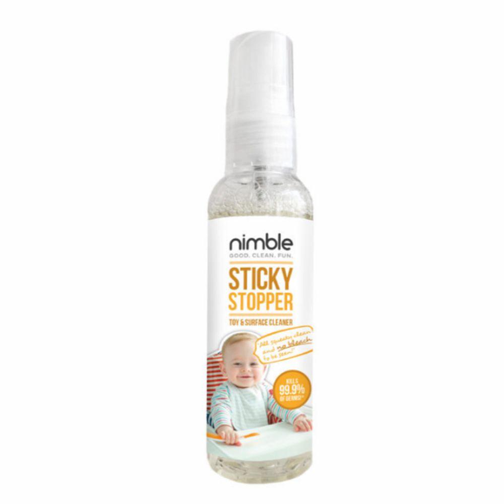 英國 Nimble 靈活寶貝 - 髒小孩隨身萬用殺菌清潔液-60ML
