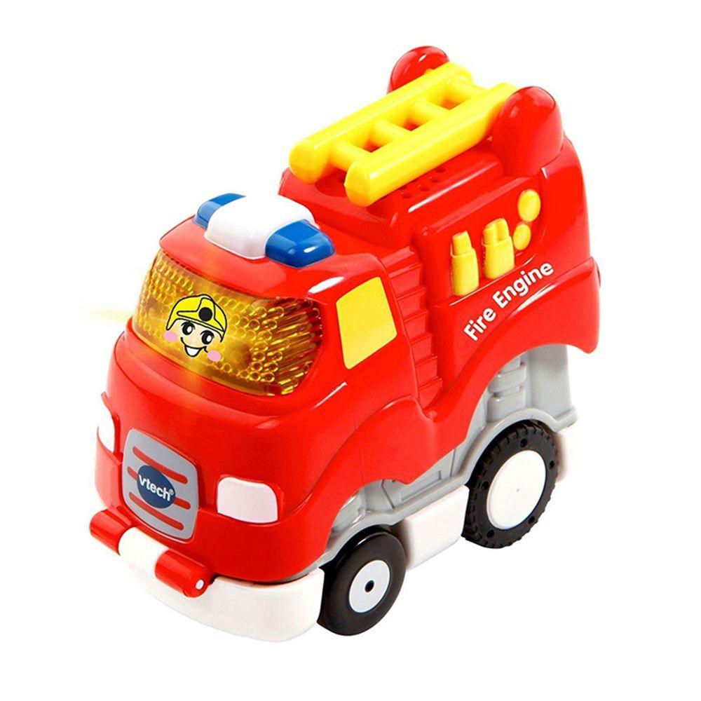 Vtech - 【新品】嘟嘟聲光迴力衝鋒車-酷炫消防車