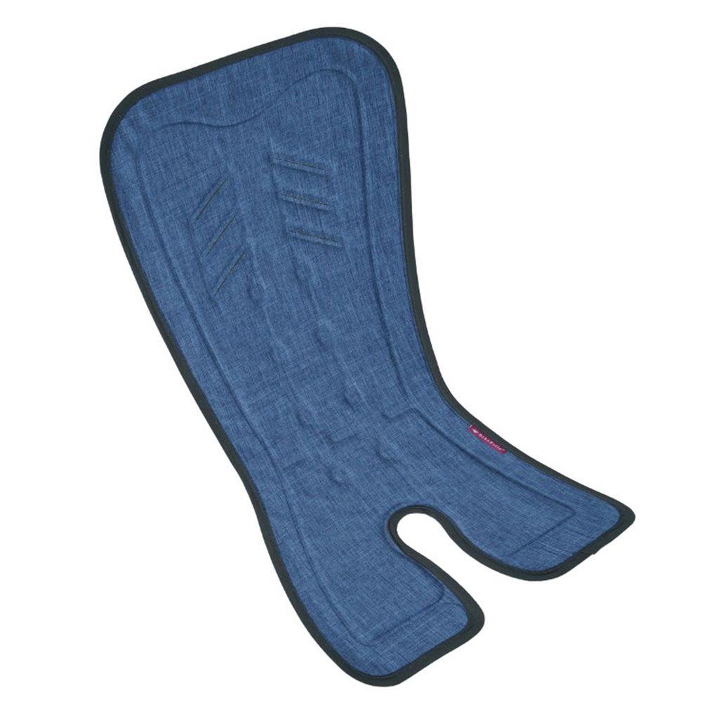 法國 Bebefolie - 冰心沁涼墊-推車專用-丹寧藍 (長*67.7 寬*34 公分)