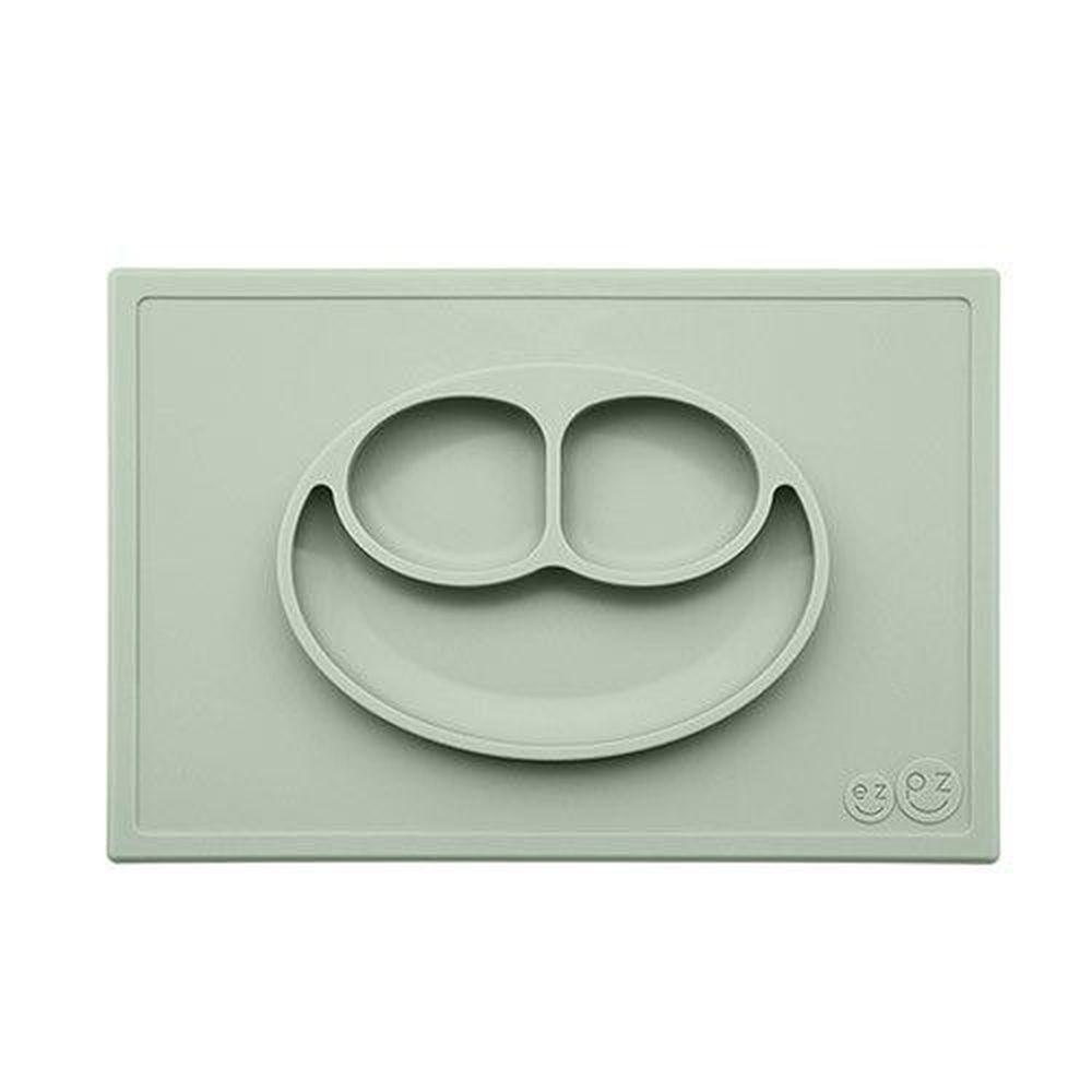 美國 ezpz - 快樂餐盤 Happy Mat-餐盤-抹茶綠 (38cm*25cm*2.54cm)-420ml