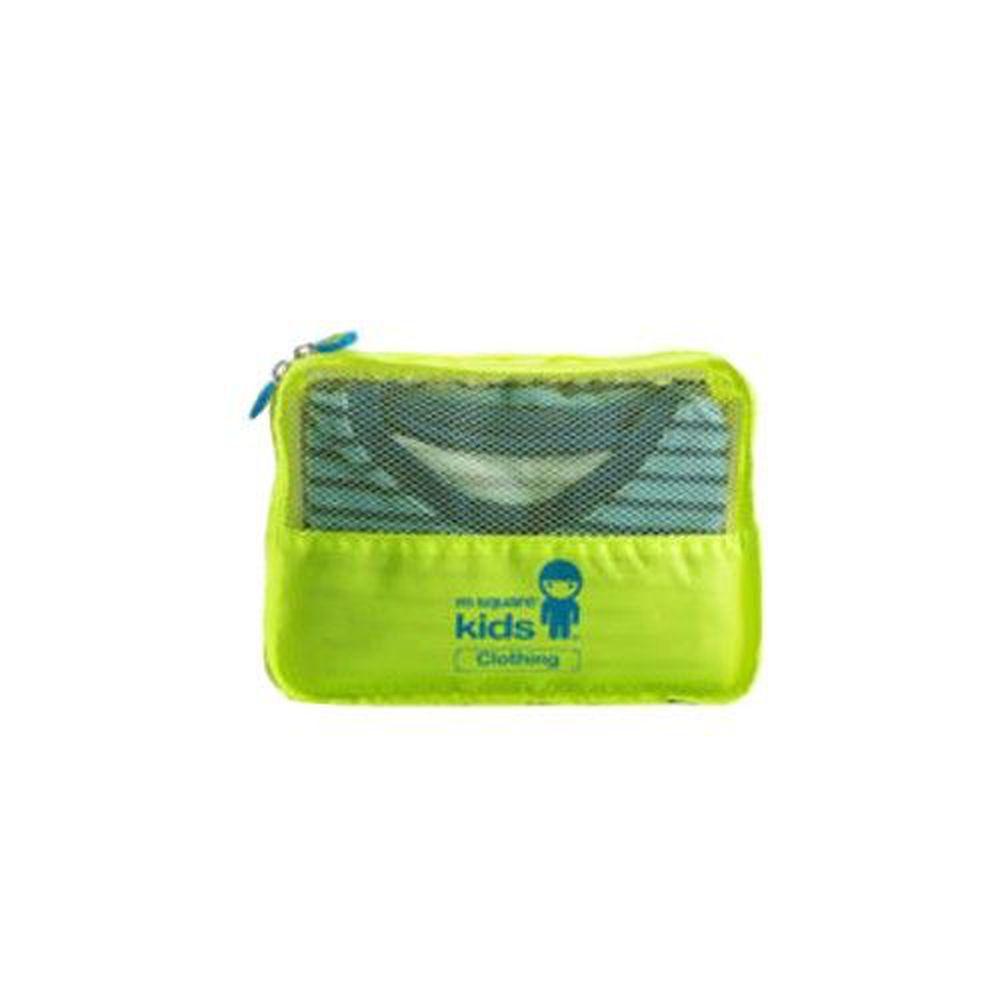 m square - 兒童衣物袋S號-螢光綠