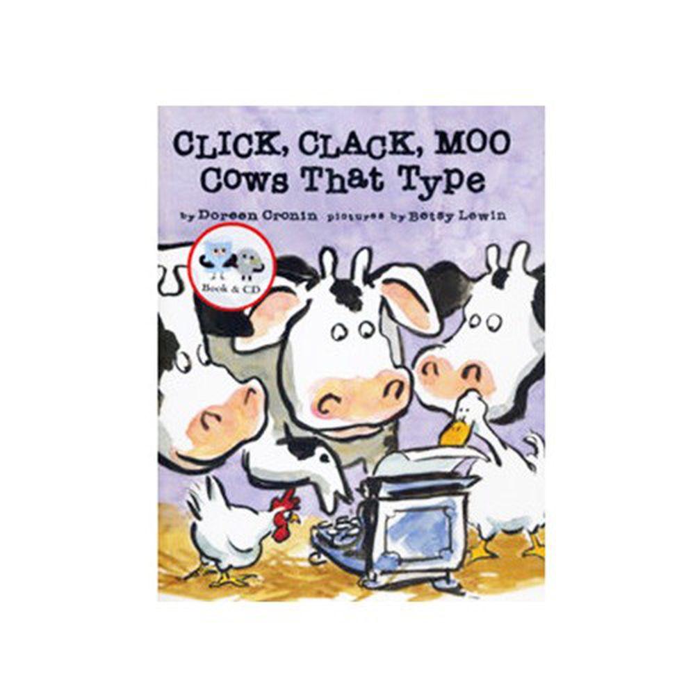 有聲書-CLICK CLACK MOO COWS TYPE/書+CD