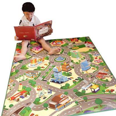 兒童安全遊戲地墊-小-城市街道 (100 x 120cm)